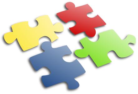 Waarom logopedie, volwassenen - puzzelstukken